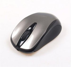 Mysz przewodowa Media-Tech PLANO MT1091T optyczna czarno-srebrna