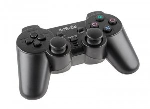 Pad Dual Shock Quer KOM0586A Gamer PS3 / PC bezprzewodowy