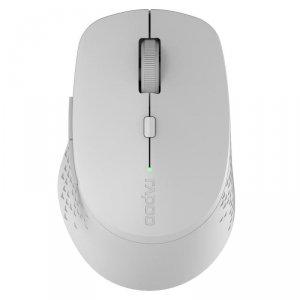 Mysz bezprzewodowa Rapoo M300 2.4 GHz + BT, szara