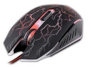 Mysz przewodowa Rebeltec DIABLO optyczna Gaming USB czarna