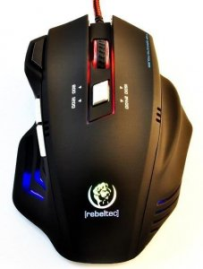 Mysz przewodowa Rebeltec PUNISHER 2 optyczna Gaming USB czarna