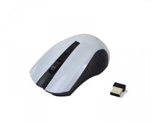 Mysz bezprzewodowa VAKOSS TM-658UW optyczna 4 przyciski 1600dpi czarno-biała