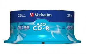 CD-R Verbatim 700MB AZO (1 sztuka)