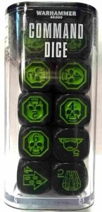 Warhammer 40000(8th) COMMAND DICE