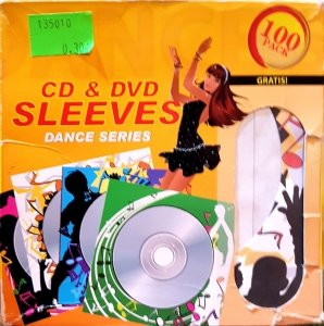 Kolorowe koperty na CD & DVD 1 szt.