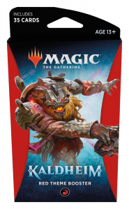 MTG - Kaldheim - Red Theme Booster