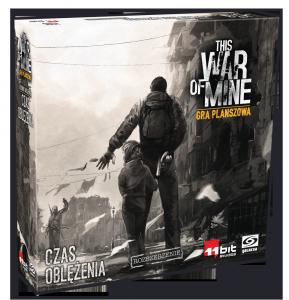 This War of Mine: Gra planszowa – Czas oblężenia PL