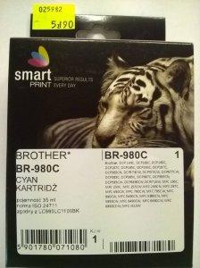 BROTHER LC980 CYAN       smart PRINT