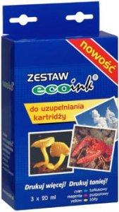 TUSZ ECOINK 3x20ml CMY