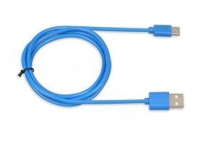Kabel USB iBOX IKUMTCB TYP-C, 1m, 3A Niebieski