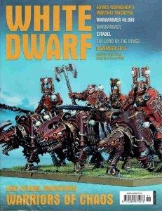 WHITE DWARF 2012 NOVEMBER