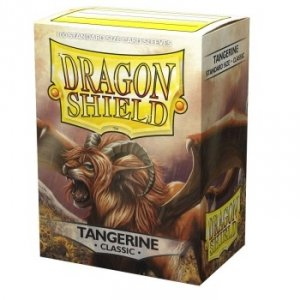 Koszulki Dragon Shield Classic Sleeves - Tangerine Dyrkottr of the Nekotora (100 Sleeves)