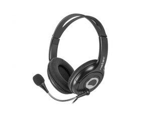 Słuchawki z mikrofonem Natec Bear 2 czarne
