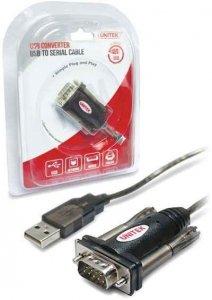 Kabel adapter Unitek Y-105 USB 2.0 do RS-232