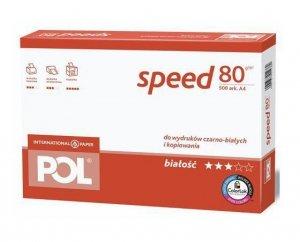 Papier biurowy Polspeed A4 - 1x ryza (500 arkuszy)