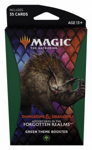 MTG - Adventures in the Forgotten Realms - Theme Booster - Green