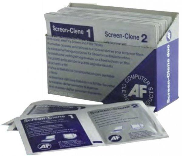 Materiały czyszczące ŚCIERECZKA SUCHA 1 SZT AF Screen-Clene Duo (SCR020)