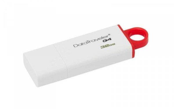 Pamięć USB 32GB DataTraveler I G4 - Red Kingston