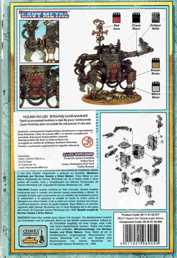 SPACE ORK DREADNOUGHT