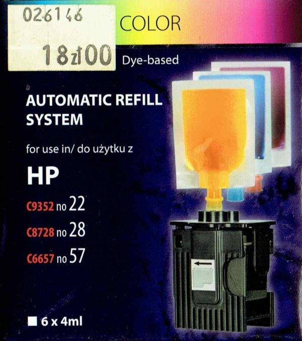 REFILL HP 22-28-57   KOL.6x4ml.FRONT