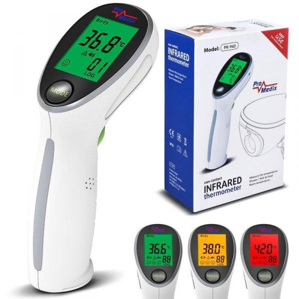 Termometr bezdotykowy Promedix PR-960 napodczerwień