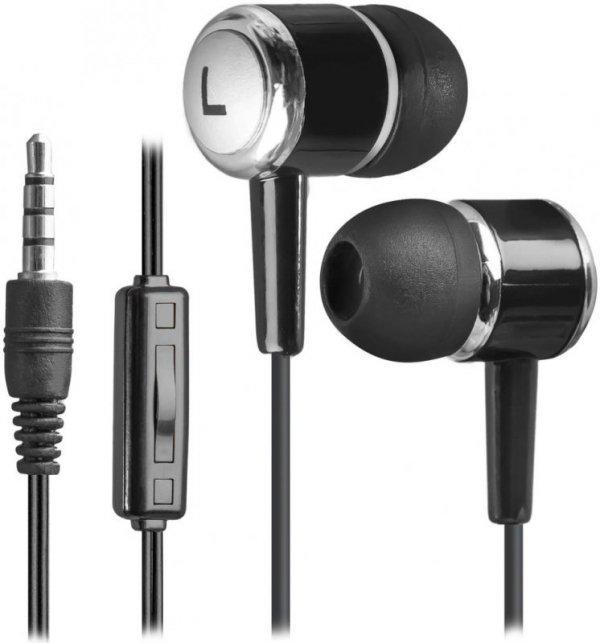 Słuchawki z mikrofonem Defender PULSE 427 douszne 4-pin czarne