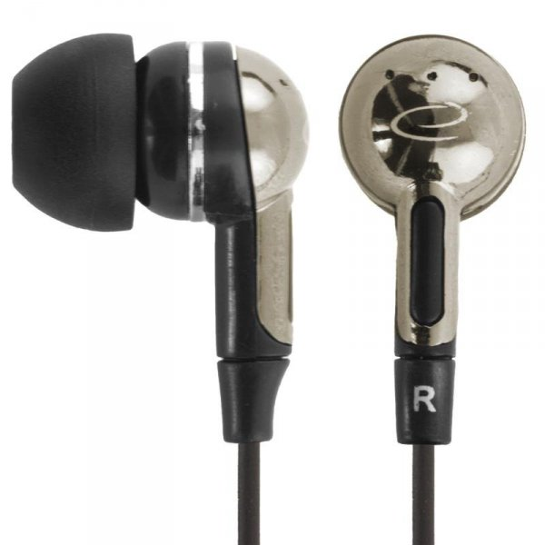 Słuchawki Esperanza EH125 czarno-srebrne