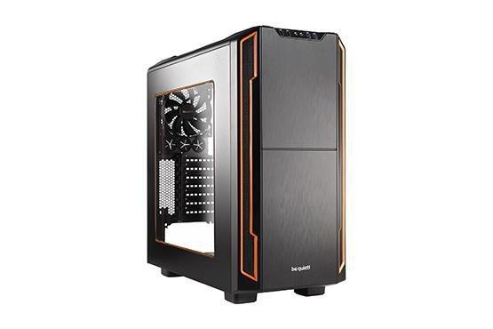 Obudowa be quiet! Silent Base 600 Window ATX Midi Orange bez zasilacza