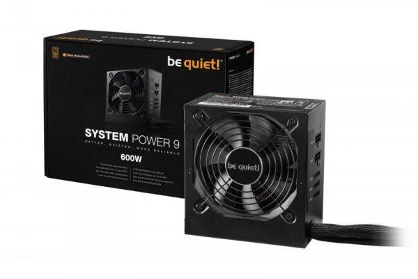 Zasilacz be quiet! System Power 9 CM 600W 120mm 80+Bronze