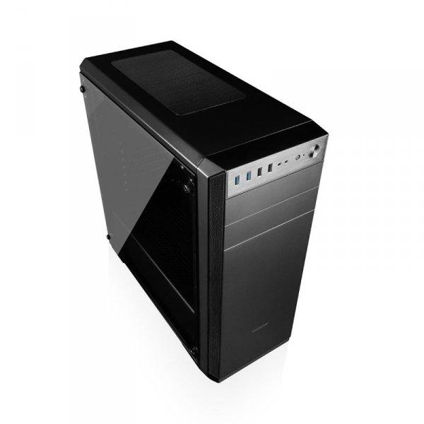 Obudowa Modecom Oberon Glass Pro ATX USB 3.0 Black bez zasilacza