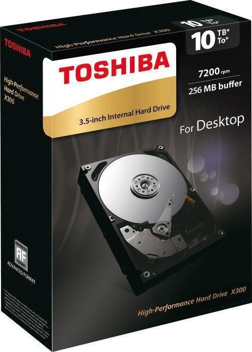 Dysk Toshiba X300 HDWR11AEZSTA 3,5'' 10TB SATA 7200 256MB