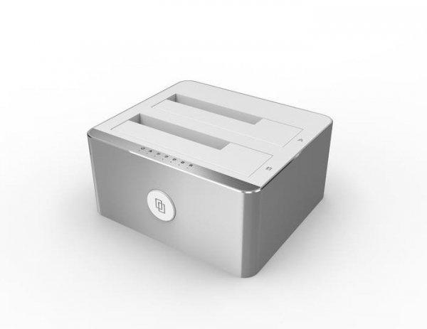 Stacja dokująca HDD Unitek Y-3027 na USB3.1 Alu.