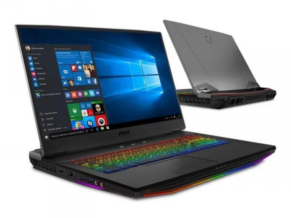 """Notebook MSI GT76 Titan 17,3""""UHD/i9-9900K/64GB/1TB+2xSSD512GB/RTX2080-8GB/10PR"""