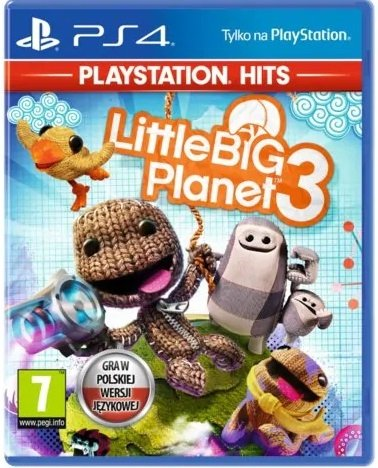 Little Big Planet 3 PL PS4