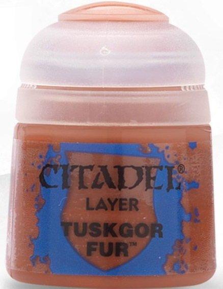 Farba Citadel Layer - Tuskgor Fur 12ml