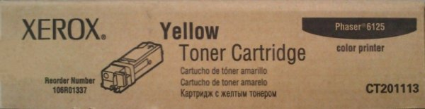 Toner Xerox 106R01337 yellow | 1000str | Phaser 6125