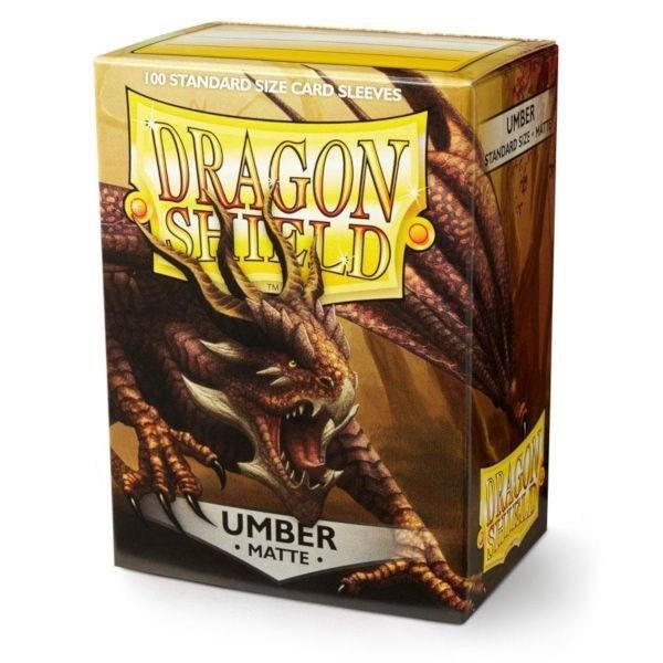 Dragon Shield Standard Sleeves - Matte Umber (100 Sleeves)