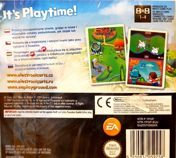 PLAYGROUND                  DS