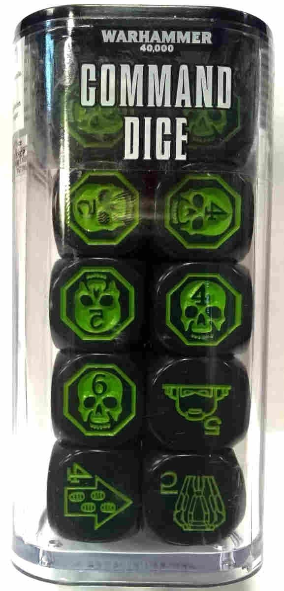 Warhammer 40000(8th) COMMAND DICE FRONT