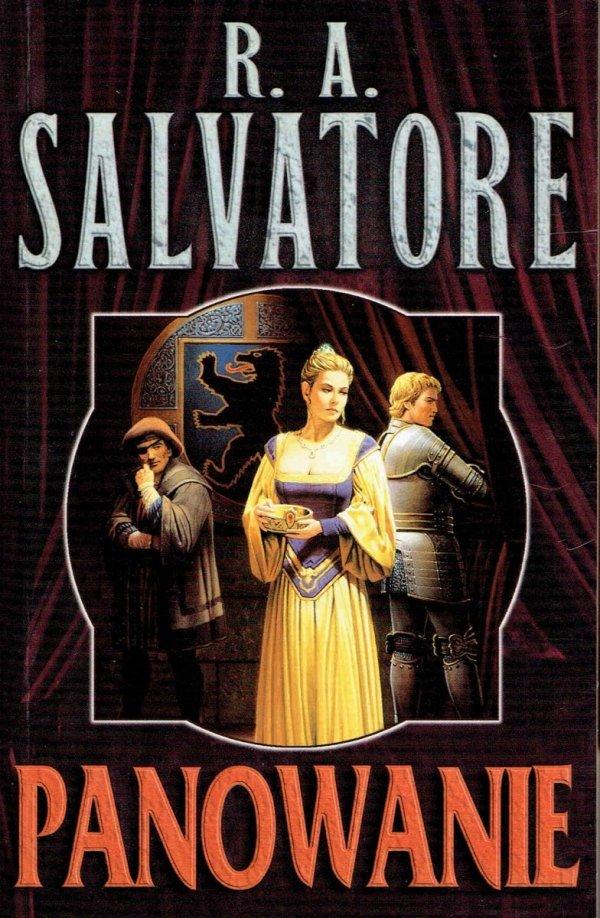 Panowanie. R.A. Salvatore. front książki. 31.90 zł