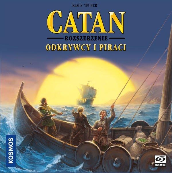 Catan: Gra planszowa – Odkrywcy i Piraci PL