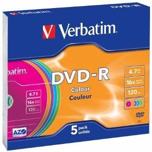 DVD-R VERBATIM 4.7GB      SLIM