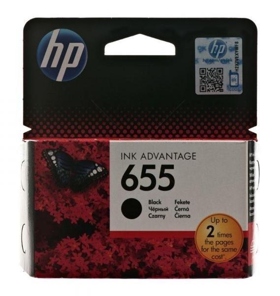 HP Tusz 655 Black CZ109AE