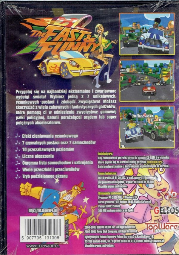FAST & FUNNY PC CD
