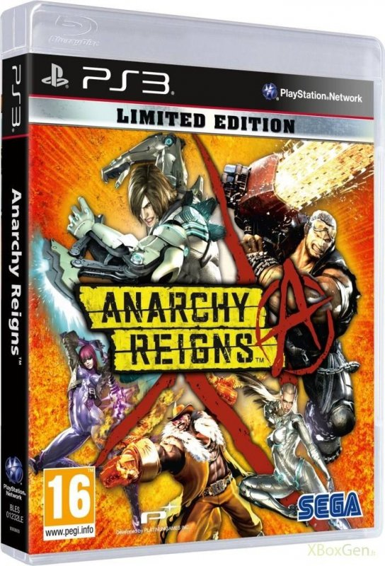 ANARCHY REINGS             PS3