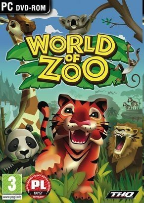 WORLD OF ZOO PC DVD