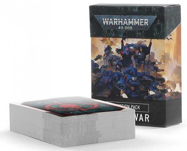 Warhammer 40,000: Mission Pack: Open War Cards 9th edition