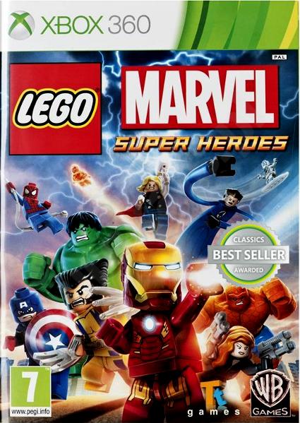 Gra LEGO Marvel Super Heroes X360