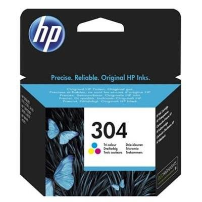 Tusz HP 304 color   2 ml   100 str.   HP DeskJet 2620/30 / 3720/30