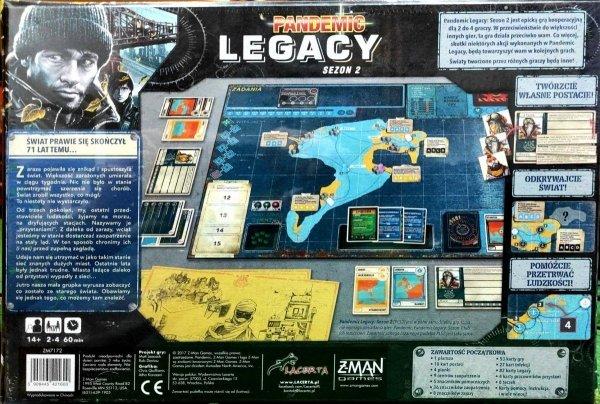 Pandemic Legacy - Sezon 2 PL